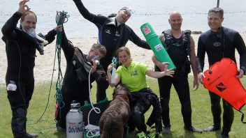 PAdi rescue cursus Brabantdiving Eindhoven